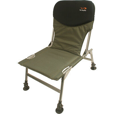 TF Gear Chill Out Fishing Chair Adjustable Legs And Mud Feet Lightweight TFG • 34.99£