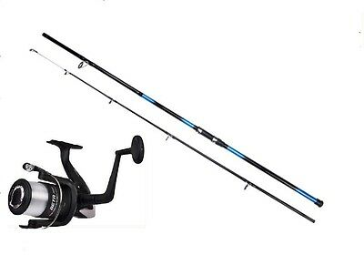 Shakespeare Beta Reel & Oakwood 12ft Beachcaster Combo Sea Beach Fishing Rod   • 38.45£