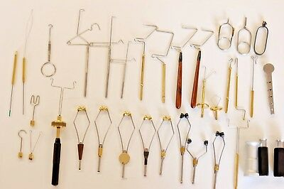Whip Finishers, Bobbin Holders, Threaders, Dubbing Tools For Fly Tying, Fishing • 6.50£