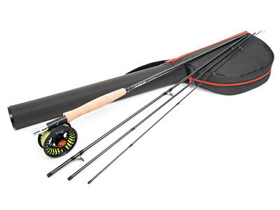 Guideline Kaitum Trout 9ft AFTM #5 #6 Reel Rod Combo Fly Fishing  • 185.22£
