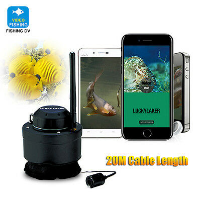 LUCKY WIFI Underwater Fishing Camera 80M Wireless Screenshot For Android Phone • 102.99£