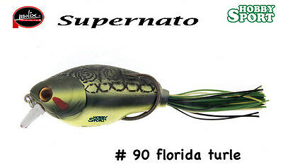Supernato Crank Bait Hybrid Colour 90 Florida Turtle Molix • 13.46£