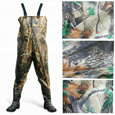 Waterproof Waders Camouflage For Fishing Leisure Water Gardening Or Agriculture • 21.79£