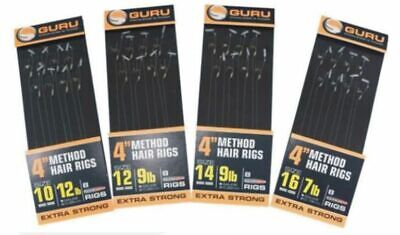 Guru NEW Method Hair SpeedStop Ready Rigs -*All Sizes Available*- Coarse Fishing • 2.75£