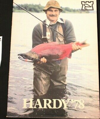 Hardy Bros 1979  Vintage Fishing Tackle Catalog With 63 Pp Fine Condition  (138) • 15.99£