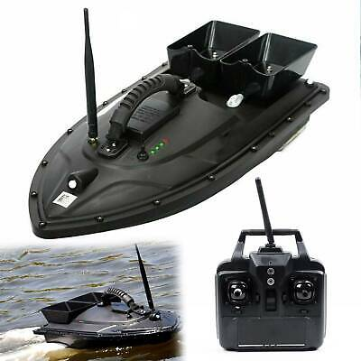 500M Wireless RC Fishing Bait Boat With 2 Motors Fish Finder Single Hand Control • 165.99£