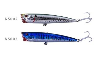 Noeby Surface Lure Popper For Sea Fishing Bass Pollock Mackerel Pike 14cm 40G • 8.99£