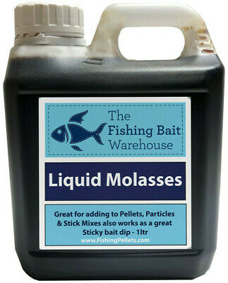 Liquid Molasses Fishing Attractant 1ltr, 5ltr, 20ltr- Glug, Boilie Dip, Carp  • 6.49£