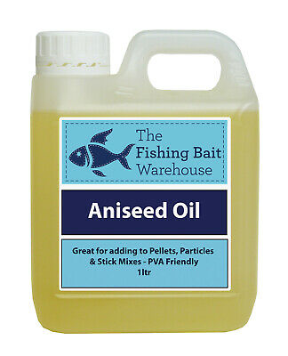 Aniseed Oil For Fishing 1ltr - 20ltr, High Attract, Bait Dip, Carp, PVA Friendly • 9.99£