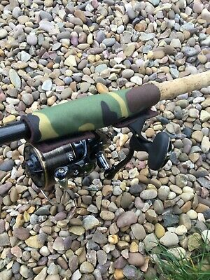 Peak Angling Products Reel / Rod Handle Protector Strap Camo Carp Fishing • 5.99£
