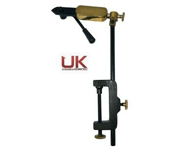 UKAS Quality Rotatable Side Lever Action Fly Tying Clamp Vice • 19.99£