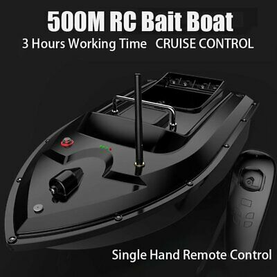 Wireless RC Fishing Bait Boat With 2 Motors 500M Single Hand Control For Angling • 82.89£