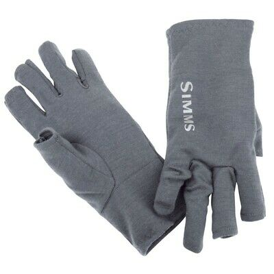 Simms  Ultra Wool Core 3 Finger Liner Size L Carbon • 32£