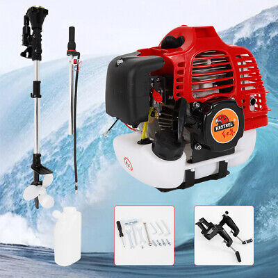 2Stroke 2.5HP Outboard Motor Fishing Inflatable Boat Engine CDI System Choke • 169£