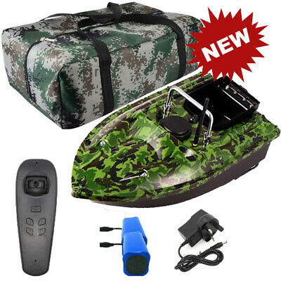 500M Wireless RC Fishing Bait Boat 2 Motors +Hangbag & 2 Spare Batteries Fishing • 119.99£