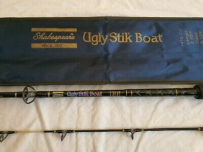 Original Shakespeare Ugly Stik 8 To 12lbs With Bag *glass Tip** Bass Bream * • 150£