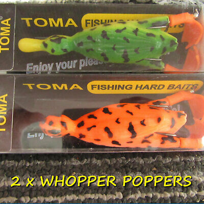 2 Toma Surface Savage Suicide Ducks Pike Perch Predator Candy Baits Lures Gear • 8.99£
