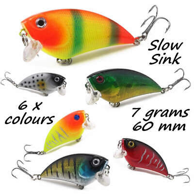 HENGJIA Savage Pike Perch Candy Extra Vibration Shad Rap Fishing Lure Plug Gear • 8.99£