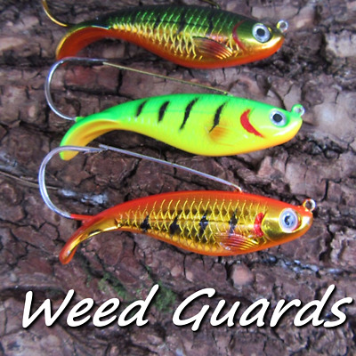 3 X Jigs Pirks Weedless Pike Bass Fresh Sea Water Shad Pier Fishing Baits Lures • 6.99£