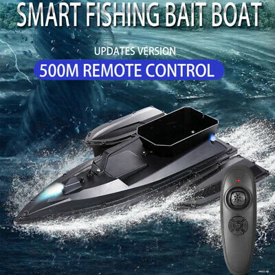 RC Fishing Bait Boat 500m RC Distance Automatic Correction Route RC Fish Boat UK • 72.99£
