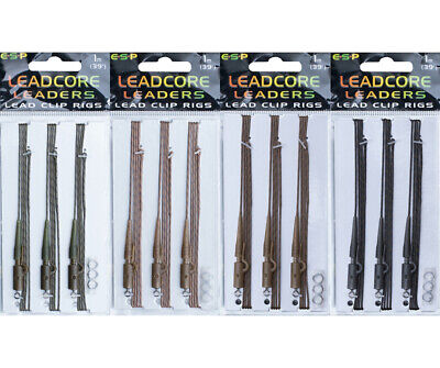 ESP NEW 1m Leadclip Leadcore Leaders *All Colours Available* - Lavender Tackle - • 6.25£