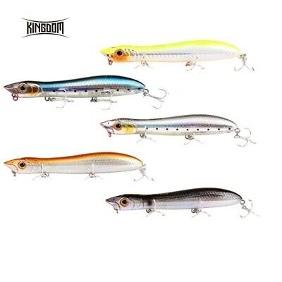 Kingdom Surface Lure For Bass Pollock Mackerel Pike Sea Fishing 12cm 17.8g • 7.99£
