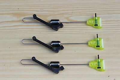 3 X Fox Micro Swinger, Bite Indicator's Green With Isotopes • 16£