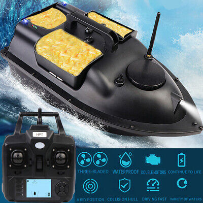 500M Wireless GPS Fishing Bait Boat Fish Hook Post Boat 3 Cabins GPS Speedboat • 108.99£