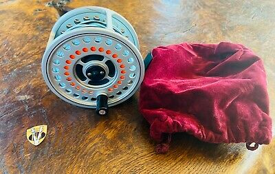 Hardy Ultralite Disc Salmon Spey Fly Reel With Hardy DT9 Floating Spey Line • 255£