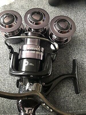 Fishing Reel And 3 Spare Spools For Sale Listed As Used But  • 4.99£