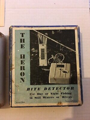 Vintage 'The Heron' Bite Detector • 75£