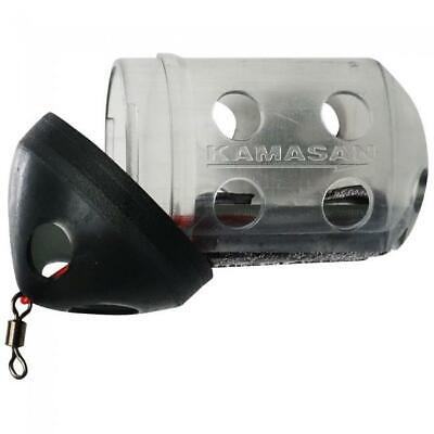 Kamasan NEW Black Caps *2 Sizes Available* - Lavender Tackle -  • 1.95£