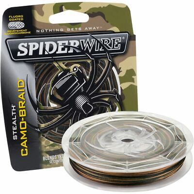 Spiderwire Stealth Smooth 8 Carrier Braid Camo • 29.75£