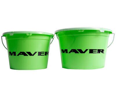 Maver NEW Groundbait Bucket And Lid *13L & 18L* - Lavender Tackle -  • 9.99£