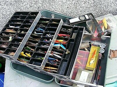 Abu Toby Gracia Lurs Spinners Etc Swedish Tackle Etc And Case  • 550£