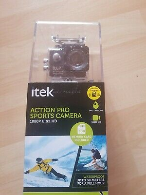 Itek Action Pro Sports Camera 1080p Ultra HD • 29.99£