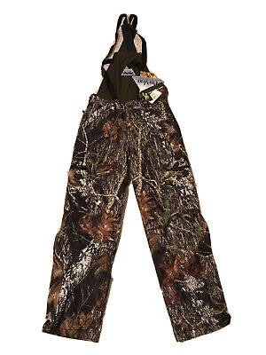 Browning Bib And Brace Fishing Hunting Trousers XPO Big Game Ins Mobu Small • 24.99£