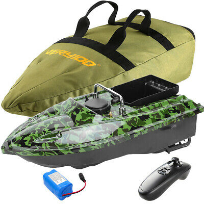 500M RC Carp Fishing Bait Boat GPS Position Hook/Bait Post Speedboat+ Handbag UK • 147.99£