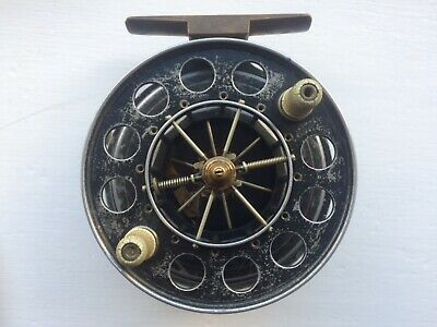 Vintage Centre Pin  4 Inch Aerial Reel T10 ??? • 340£