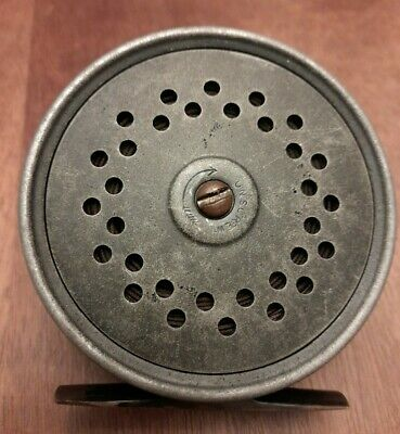 Rare Vintage Antique Farlow The Heyworth 3½  Silent Check Fly Fishing Reel  • 320£