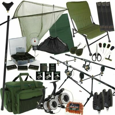 NGT SETQFISH231 Full Carp Fishing Set • 42£