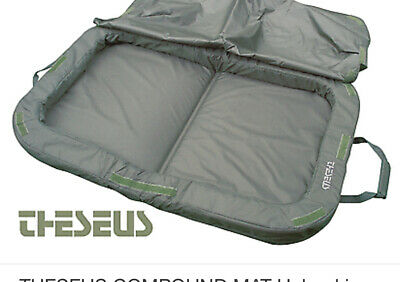 Theseus Compound Carp Fishing Landing Unhooking  Mat With Cover • 8.50£