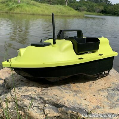 Remote Fish Finder Bait Boat High Speed RC Boat With Baits Tank GPS Function • 184£