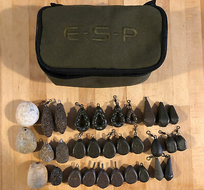 ESP Lead Pouch (with Leads) -  Carp Fishing • 7£