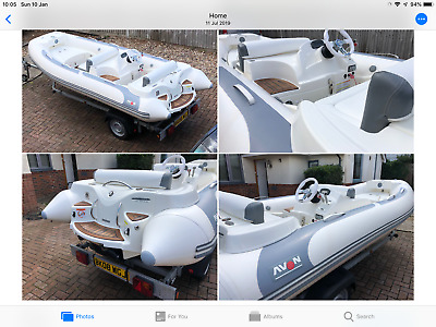 Boat.avon 430sc Dl Jet Rib Ridged Inflatable Top Of The Range • 5,700£