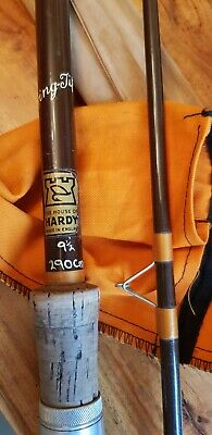 Vintage 9  1/2 Ft Hardy Swingtip Fishing Rod • 35£