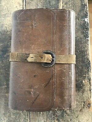 The Wharfedale Fly Book Rare Antique Fly Fishing Wallet Compendium Flys / Casts  • 74.56£