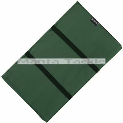 NEW Carp Coarse Fishing 100cm Unhooking Landing Mat Folding Straps Green MAT Ngt • 9.99£