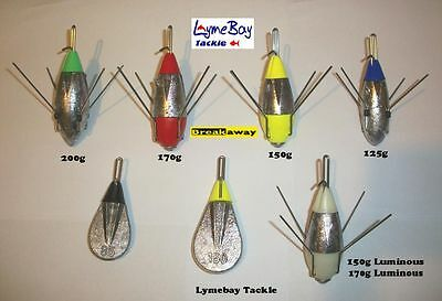 4 X Breakaway Impact Leads / Weights - All Sizes - Mixed Sizes - Sea Fishing • 10.20£