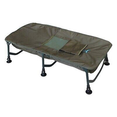 Dark Green Framed Carp Fishing Unhooking Cradle Safeguard Foldable With Carrybag • 48.99£